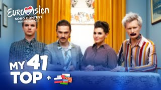 Eurovision 2020 - Top 41 (NEW: 🇷🇺🇦🇿🇲🇹🇲🇰🇸🇲)