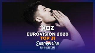 Eurovision 2020: Top 31 - NEW 🇨🇾
