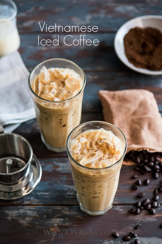 Vietnamese Iced Coffee Recipe @whiteonrice
