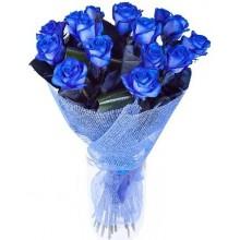 """Букет """"15 синих роз"""""""