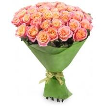 """Букет """"39 роз Мисс Пигги"""""""