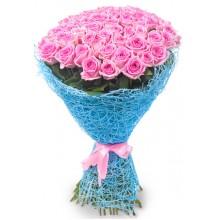 """Букет """"69 розовых роз"""""""