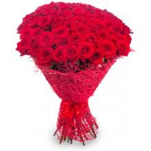 """Букет """"69 красных роз"""""""